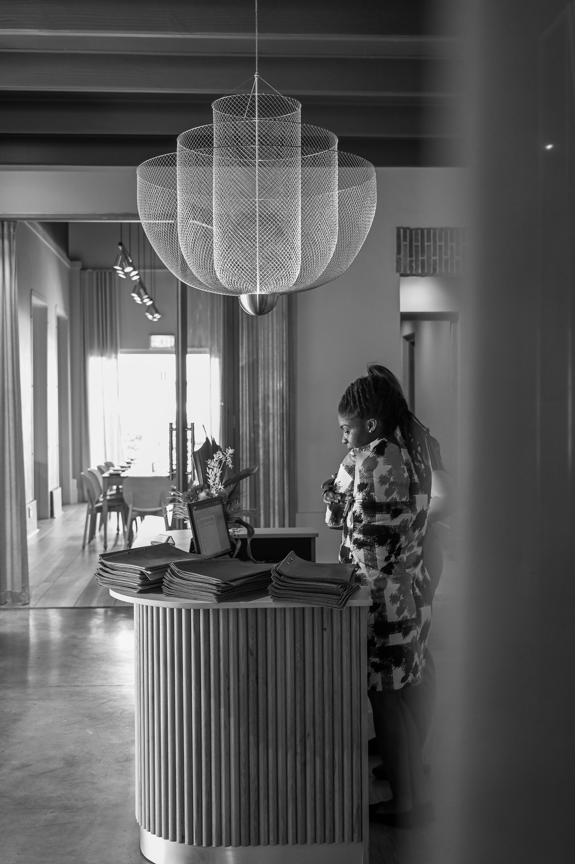 A SATURDAY AT STEENBERG HOTEL