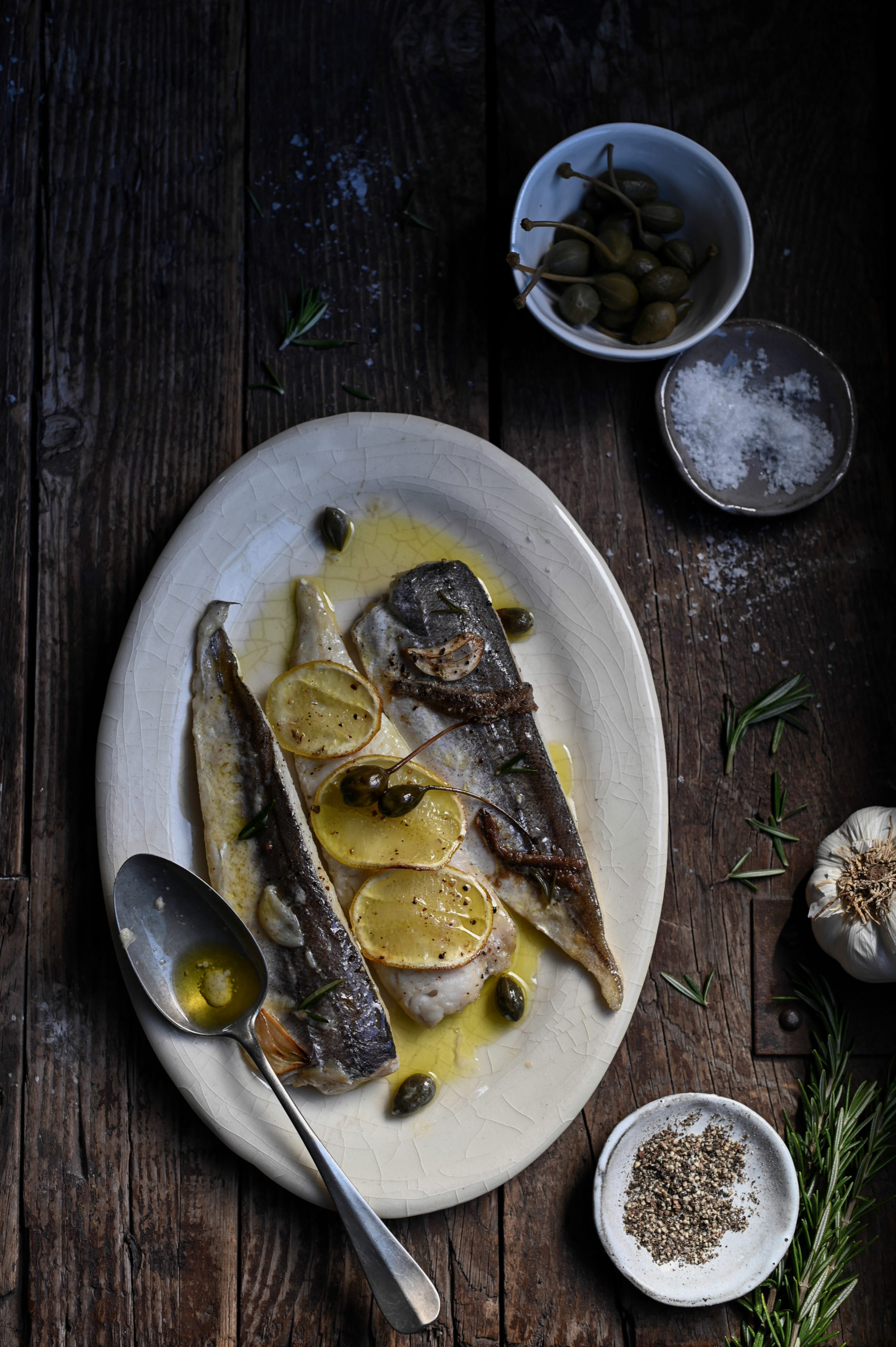 SICILIAN-STYLE GRILLED HAKE