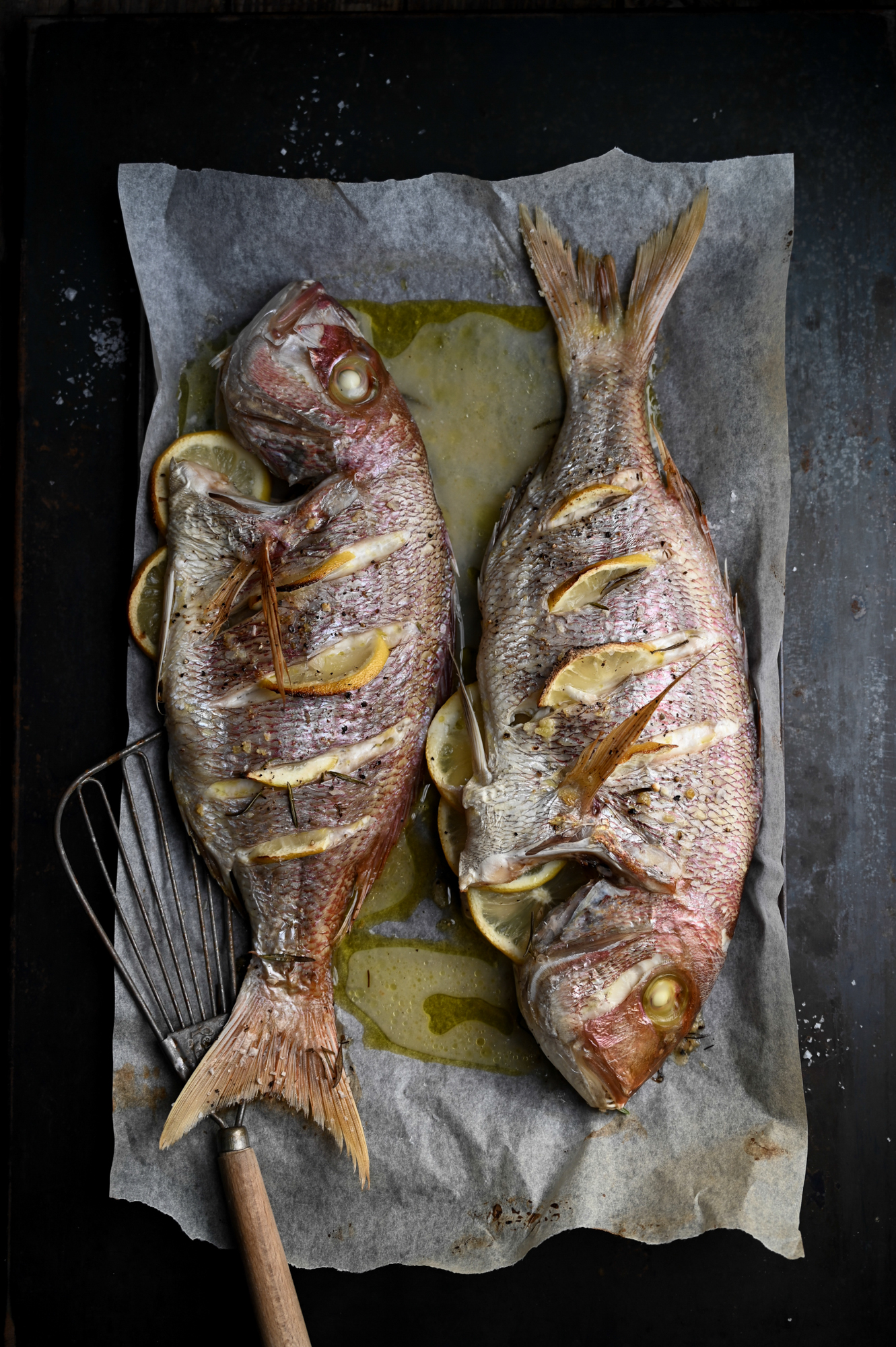 GRILLED SANTER FISH WITH ITALIAN FLAVOURS