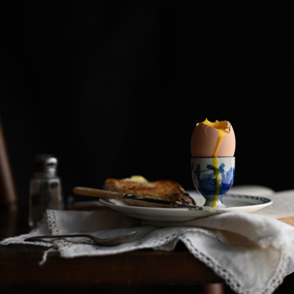 THE BEAUTY OF A BOILED EGG