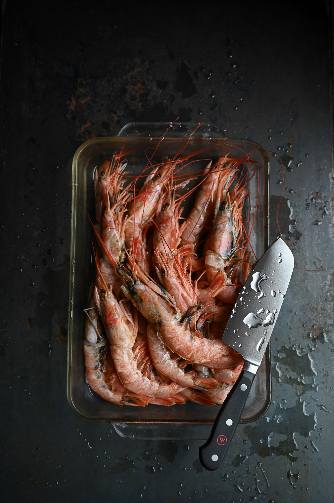 GRILLED PRAWNS WITH CHILLI