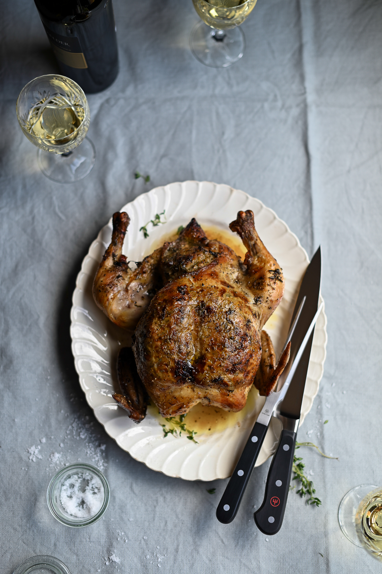 A REALLY GOOD RECIPE FOR ROAST CHICKEN