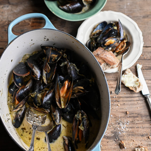 THE MUSSELS FROM MY COOKBOOK
